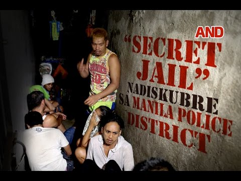 Secret jail nadiskubre sa Manila Police District