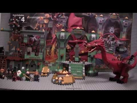 Lego The Hobbit 79018 The Lonely Mountain set review