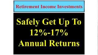 Best Retirement Income Investments