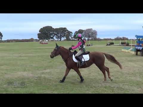 Jaeli Uselding & Little Red Riding Hood At Texas Rose Horse Park Fall Horse Trials 2018