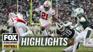 Ohio State vs. Michigan State | FOX COLLEGE FOOTBALL HIGHLIGHTS
