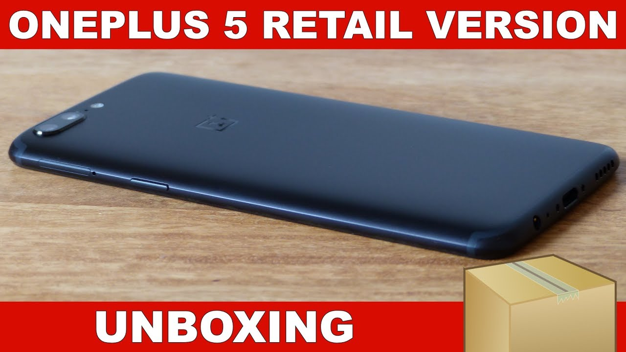OnePlus 5 Unboxing (Retail Version)