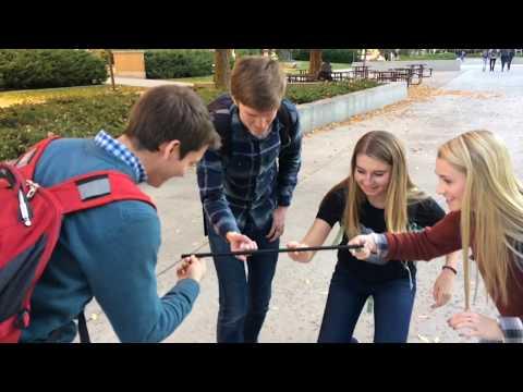Helium Stick - Initiative Activity