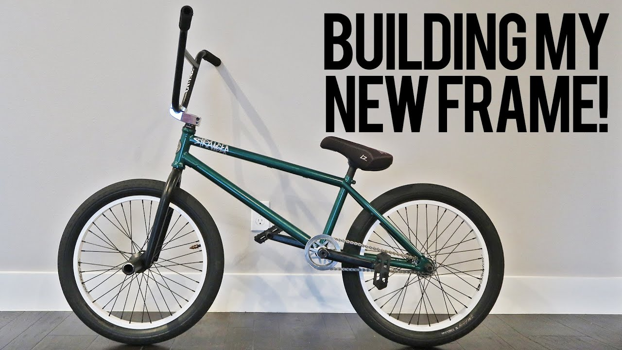 How to Build a BMX Frame - YouTube