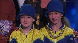Jason Maybaum & Elliana Walmsley -  DWTS Juniors Episode 5 (Dancing with the Stars Juniors)