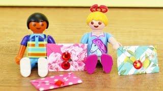Playmobil Briefe basteln | Liebesbriefe für Hannah und Dave | Ganz einfach selber machen DIY