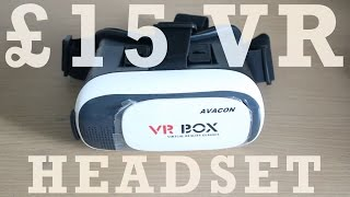 Budget VR Headset Review And Unboxing - Avacon VR Box (HD)