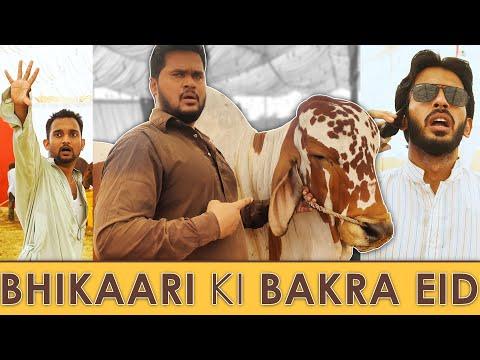 Download Bhikaari ki Bakra EID 🐐 | Comedy Skit | Sajid Ali | Ovais Mithani