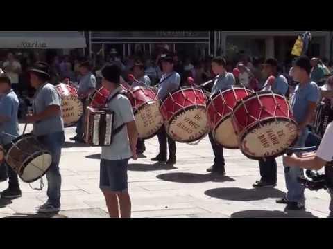 Grupo Bombos Recreativo de Viariz -  Baião | Romaria Sra  d'Agonia 2016