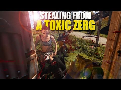 STEALING FROM A TOXIC ZERG (Rust)