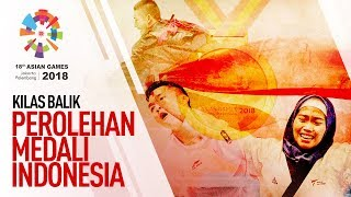 ASIAN GAMES 2018 - URUTAN PEROLEHAN MEDALI EMAS INDONESIA