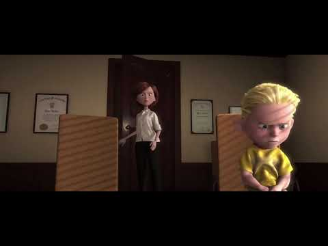 The Incredibles: The Principal's Office Scene