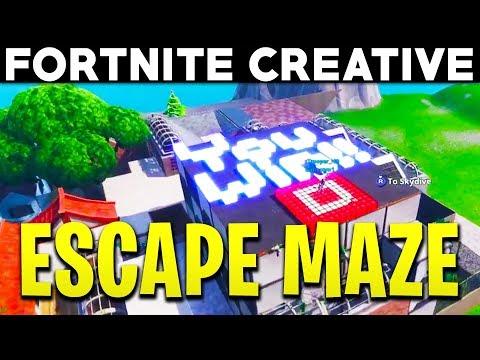Fortnite Creative - PICKLES ESCAPE MAZE CHALLENGE