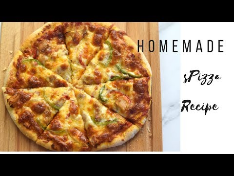 How to Make Delicious Homemade Pizza Recipe