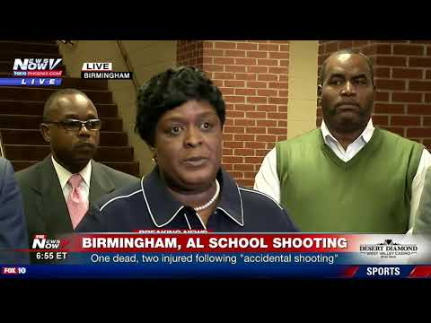 """SCHOOL SHOOTING: Newser on """"accidental shooting"""" at AL HS that left one student dead (FNN)"""