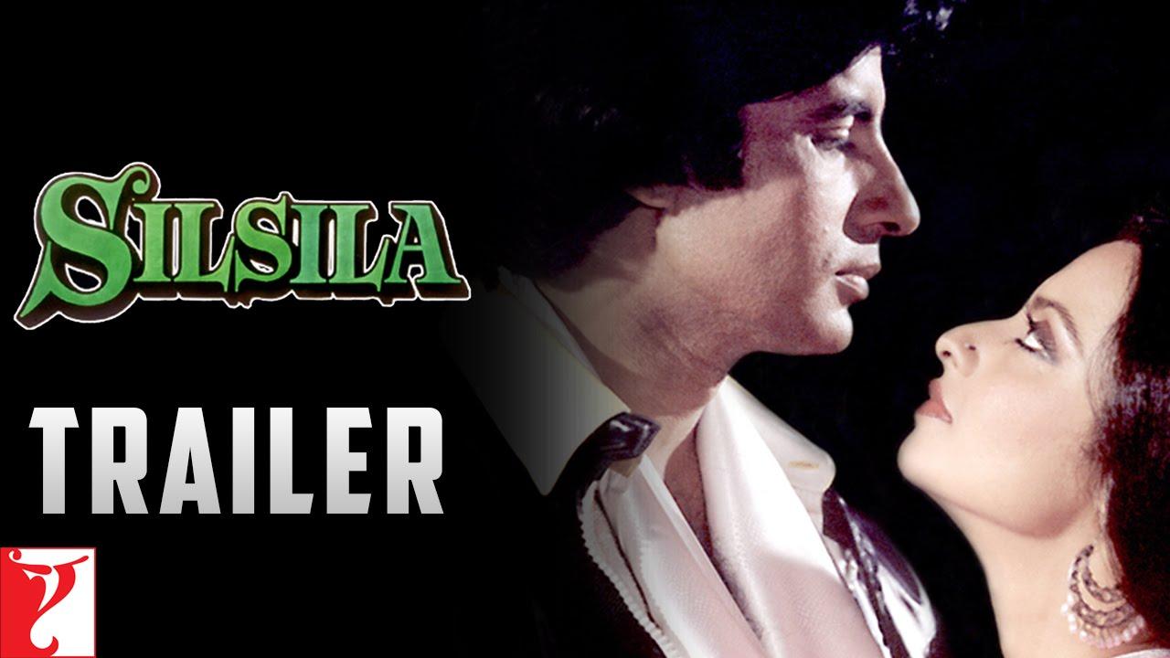 Download Silsila   Official Trailer   Amitabh Bachchan   Rekha   Shashi Kapoor   Jaya Bachchan