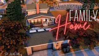 Американский семейный дом│Строительство│American Family Home│SpeedBuild [The Sims 4]