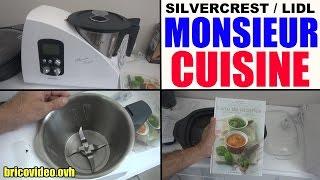 monsieur cuisine lidl silvercrest plus livre recette skmh 1100 a1 Küchenmaschine