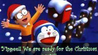 Cartoon - Doraemon celebrates Christmas