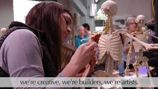 ANATOMY IN CLAY® Centers In Action: Craig Hospital