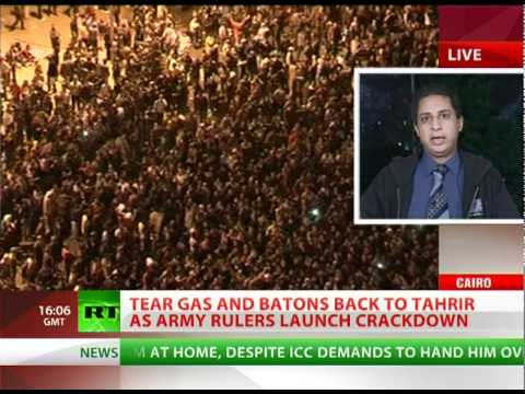 Tahrir Activist: West supplying army regime with means of oppression