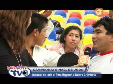 Campeonato Nacional de Judo. Judocas del todo el Perú llegaron a Chimbote