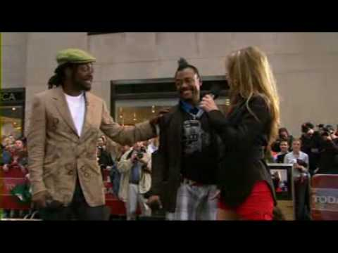 Black Eyed Peas - My Humps (LIVE The Today Show)