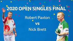 Just. 2020 World Indoor Bowls Championships: Day 17! OPEN SINGLES FINAL!