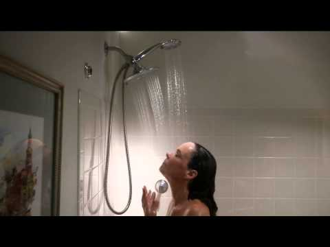 HotelSpa 24-Setting 3-Way Rainfall Shower Head with Albany Irvin