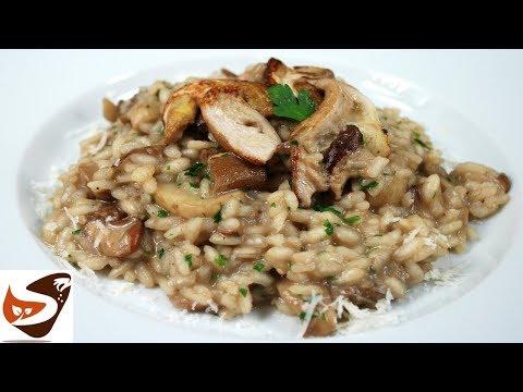 Risotto ai funghi - Facilissimo, dal gusto irresistibile! – Primi piatti