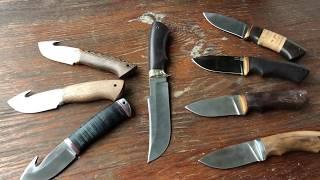 обзор шкуросьемных ножей для охоты