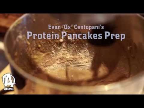 Protein Pancake Prep with Evan