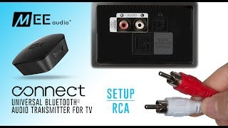 MEE audio Connect Bluetooth Audio Transmitter for TV | Using RCA