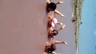 Захарочки на Лемурийском озере (Розовое озеро)