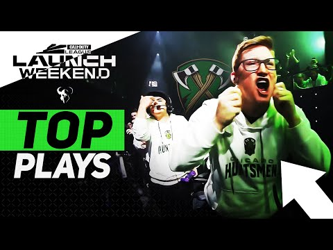 CALL OF DUTY TOP PLAYS   Call Of Duty League Launch Weekend Highlights