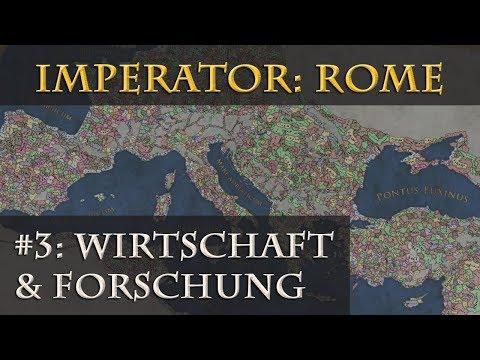 Wie wird Imperator: Rome? - Teil 3: Gebäude, Handel & Forschung (Infovideo / deutsch / Pre-Release)