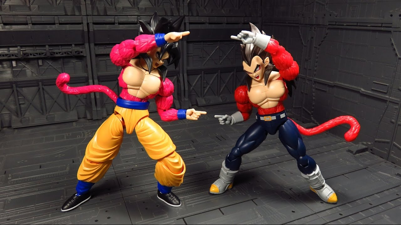 Figure-Rise Standard Dragonball Gt Super Saiyan 4 Son Goku Bandai Plastic model