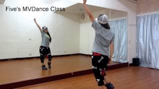 f(x) - Rum Pum Pum Pum Dance Tutorial分解教學~小五MV舞蹈教學(Five