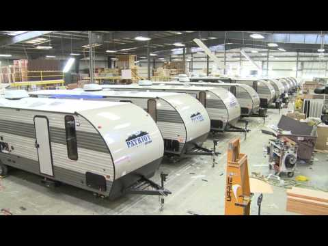 Patriot Travel Trailers at AC Nelsen RV World