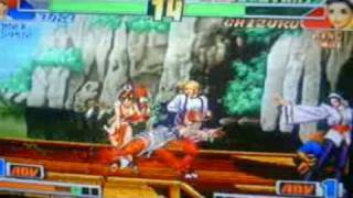 the king of fighters collection:the orochi saga