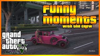 gta 5 online funny moments with the crew epic crew fight rpg jumping and more