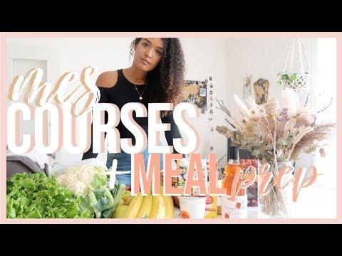 🍎🍠retour-de-courses-meal-prep-//-idées-repas-faciles-et-healthy