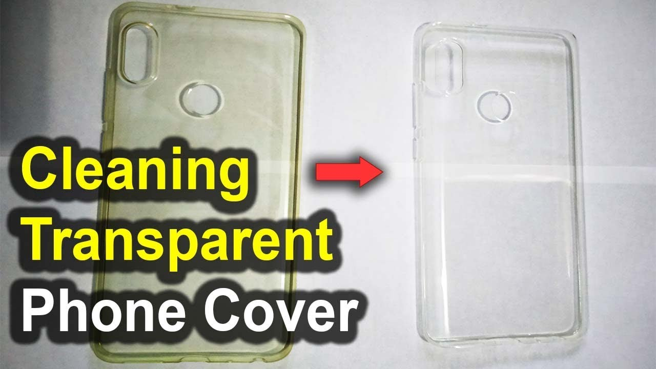 How to make silicone cover white again