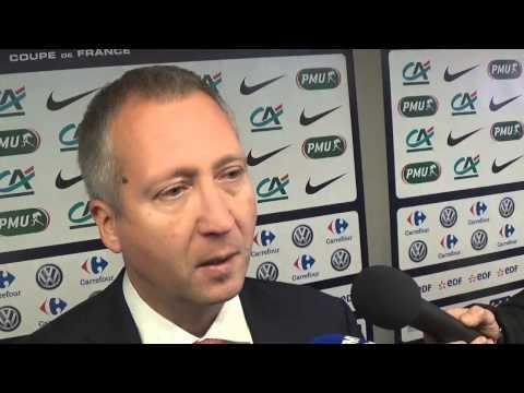 Réaction de Vadim Vasilyev, Vice-Président de Monaco, en zone mixte après PSG-Monaco (2-0)