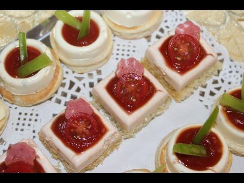 Canapés au fromage --- مملحات برستيج بالجبن