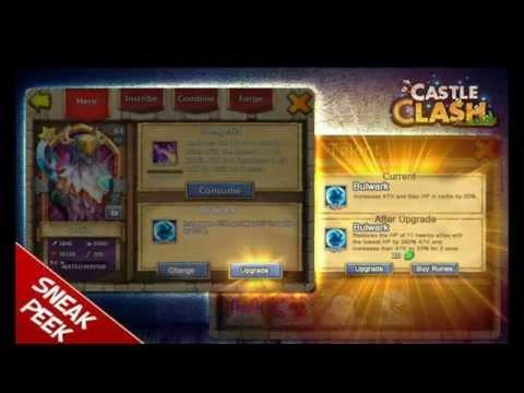 Castle Clash Sneak Peek! Talents Upgrading To Lv8!