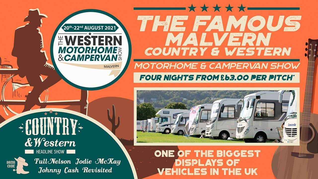 The famous Malvern country & western motorhome & Campervan show