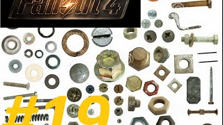 Fallout4 19  Где взять МЕДЬ КЛЕЙ БОЛТ ПРУЖИНА ШЕСТЕРЕНКИ  Как создать броню и оружие