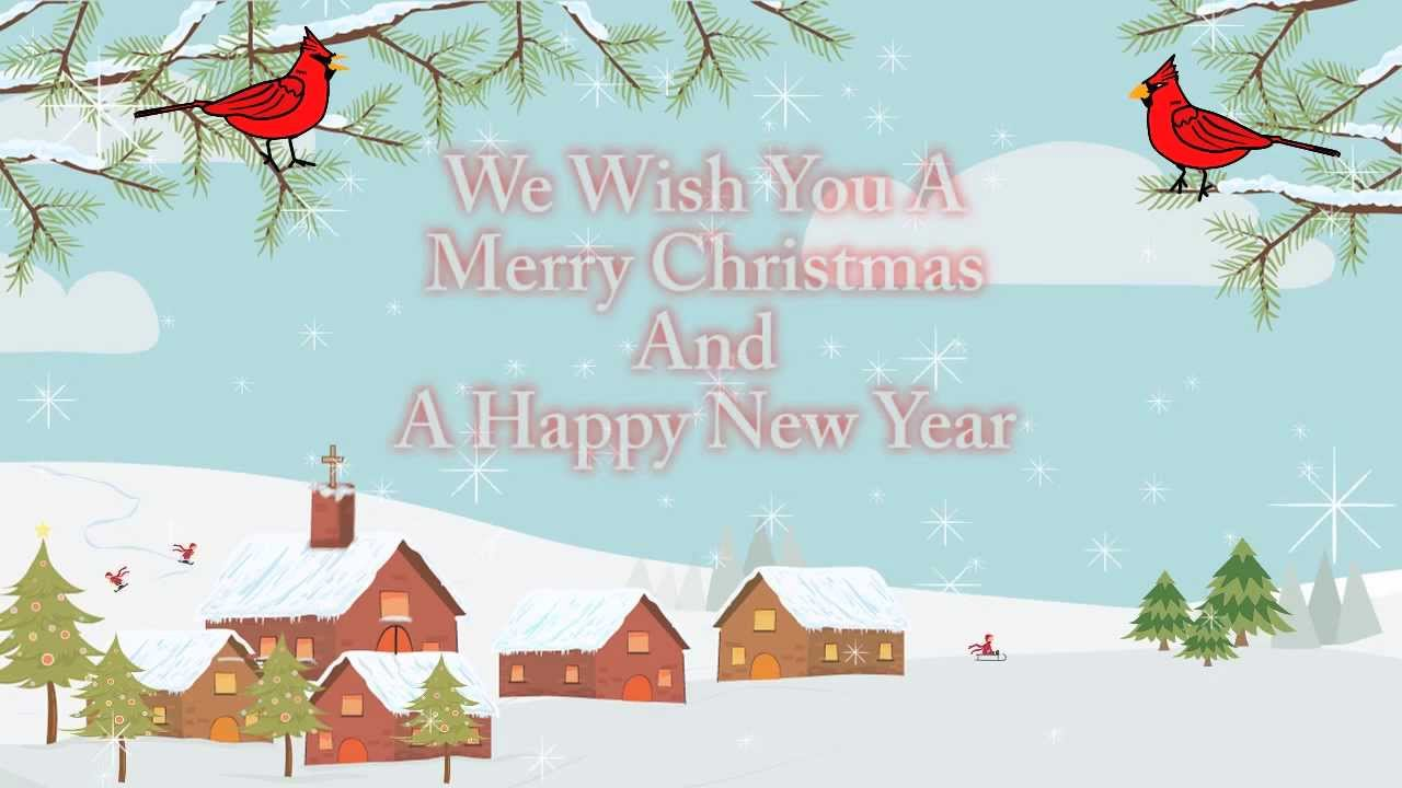 We Wish You A Merry Christmas Christian eCard - YouTube