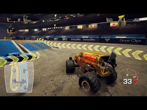 Monster Jam Steel Titans 2 trying to unlock grave digger |